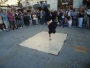Уличные танцоры на Пикадили