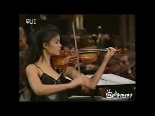 """""""ванесса мей"""" (vanessa mae) - """"angel""""- классная душевная музыка и потрясающая игра на скрипке !!!"""
