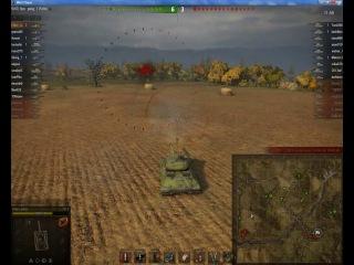 Бой на премиумном тяжёлом танке ИС-6 карта