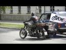 Старт мотопробега на родину Можарова