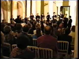 Камерный хор и оркестр Санкт-Петербургский Моцартеум, 1994 год, Юсуповский дворец