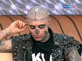Рик Генест на телеканале Россия 1
