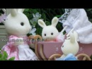 Sylvanian Families - Kerri and Connor's New Pram