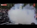 4 полк ОДОН ВВ МВД РФ совместно с Московским ОМОНом демонстранты на Болотной 6 мая 2012 Москва