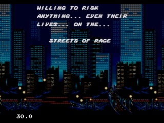Street of Rage-Open