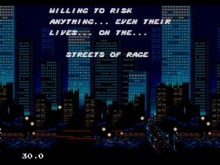 Street of Rage-Open
