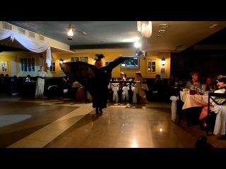 Бальные танцы ХIХ века в Омске. Студия танца Галианта.Летучая мышь (ресторан Пушкин)