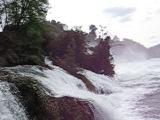 Рейн с 30-ти метровой высоты