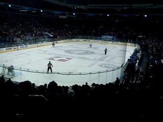 КХЛ Динамо Минск - Лех Пропад,булиты 25.10.2011
