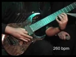Мировой рекорд скоростной игры на гитаре, 2008 г.