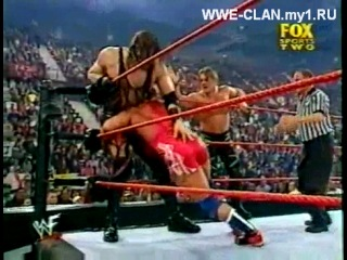 |WM| WWF RAW 26.11.2001 Kane and Rock (The ,) vs. Chris Jericho and Kurt Angle (Tag Team m
