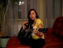 Девушка очень Красиво поет на гитаре О О