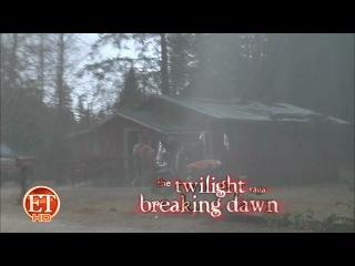ET: Новое видео со съемок фильма Рассвет