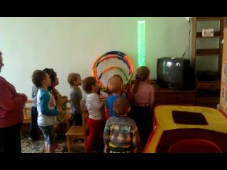 Пузырьковая колонна в детском саду.