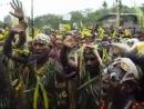 Аборигены Папуа-Новой Гвинеи поют Шма Израэль на иврите !