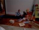 Ева, 11 месяцев, первые шаги...