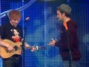 Ed Sheeran демонстрирует Loop Station Blue Peter 18 10 2011