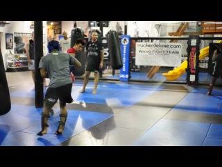 ММА,UFC тренировка лучших бойцов Bellatora