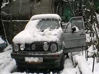 8 ое чудо света в Туапсе снег