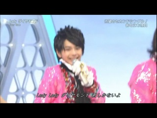 [2012.04.08 MUSIC JAPAN]  Sexy Zone - Lady Diamond LIVEi