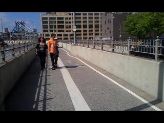 Бруклинский мост, полицейский кортеж