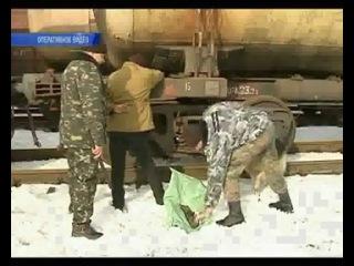 В Украине участились нападения на грузовые поезда