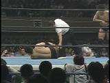 NJPW 25.05.1987 - Akira Maeda and Nobuhiko Takada (c) vs. Kazuo Yamazaki and Yoshiaki Fujiwara