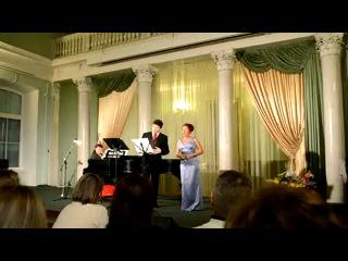 Олег Безинских и Мария Людько. G.Rossini. Duetto buffo di due gattii. 11.02.2012. Видео Максима Веселова