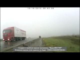Воронеж. ДТП, адская мясорубка, 18+