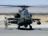 Запуск двигателей вертолета AH-64D Apache с последующим выходом режима