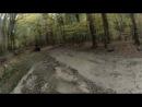 20.10.2012 подъём на Ай-Петри, я на жёлтом квадроцикле