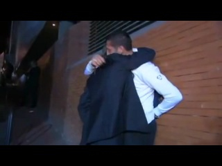 Жозе Моуринью и Марко Матерацци - Прощание с Интером