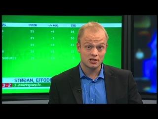 Фарерские острова / Фареры - Faroe Islands - Føroyar // Спортивная передача - 3-2 (24.09.2012)