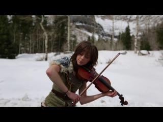 Скайрим клип Peter Hollens & Lindsey Stirling - Skyrim