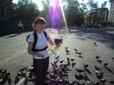 Богиня голубей яхууу!!!)))