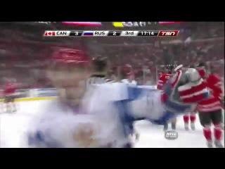 МЧМ по хокею Россия-Канада 2011