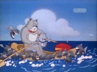 Том и Джерри Детские годы серия 33