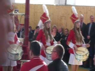 27 марта 2013 года Ногинск открытие чемпионата области по боксу Девушки барабанщицы