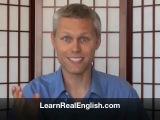 Learn real english rule 1 :)