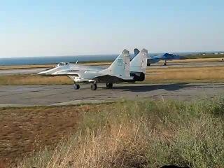 Полёты в 62-м ИАП ВВС Украины(аэродром Бельбек в Крыму).Часть 2