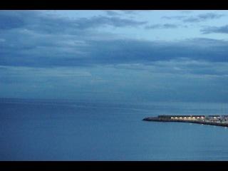 Зарница в Рапалло . Лигурийское побережье.Италия