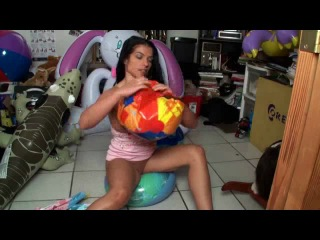 My ball inflatables_ popped