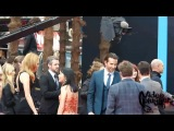 The cast of Hangover 3 at the European premiere in London