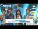 [CUT] 4.08.2013 Mutizen Nominees @ SBS Inkigayo