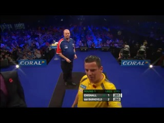Dave Chisnall vs Raymond van Barneveld (PDC Coral Masters 2013 / First Round)