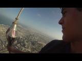 Вид с самого высокого здания в Дубае