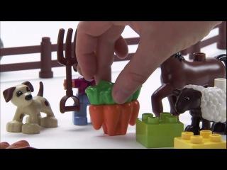 Lego duplo. Bauernhof - Welches Futter ist das Richtige