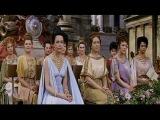 въезд в Рим Клеопатры (Элизабет Тэйлор) с сыном Цезаря — «Клеопатра» (Великобритания–США–Швейцария, 1963)