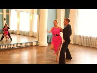 Бальные танцы (Дмитрий Бирючинский и Дарья Зарицкая)