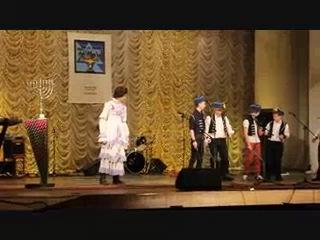 Ханука, концерт Бейс-Агарон пинск 2013